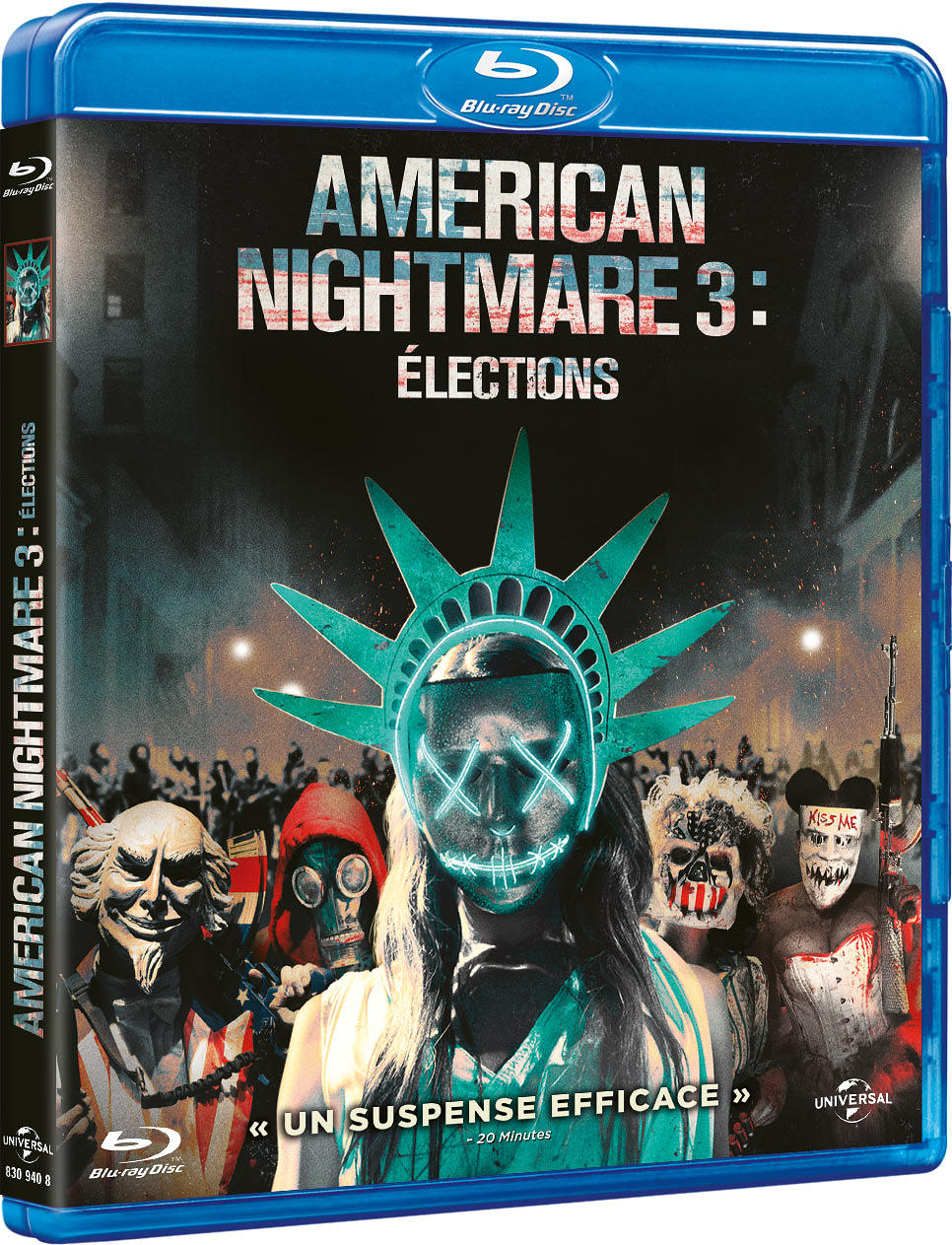 American Nightmare 3 : Elections  | DeMonaco, James (1968-....). Réalisateur. Compositeur