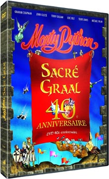 Monty Python, sacré Graal / Terry Gilliam, Terry Jones, réal. | Gilliam, Terry. Monteur. Acteur