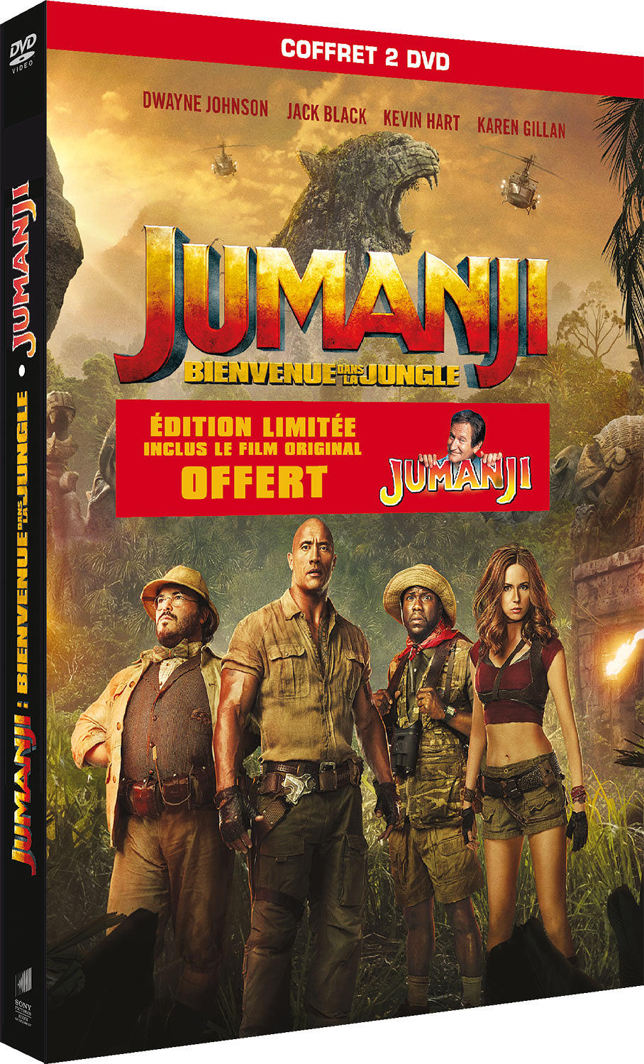 Jumanji : Bienvenue dans la jungle = Jumanji: Welcome to the Jungle | Kasdan, Jake. Monteur
